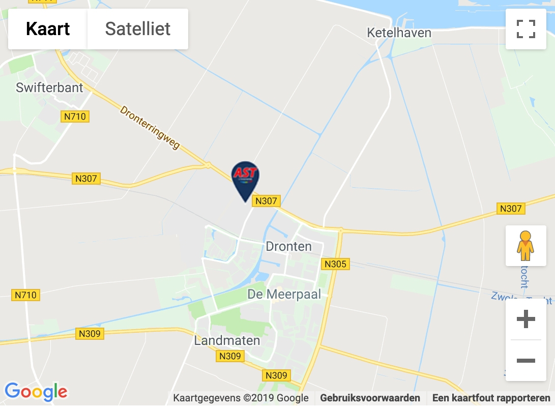 Maps afbeelding AST Dronten