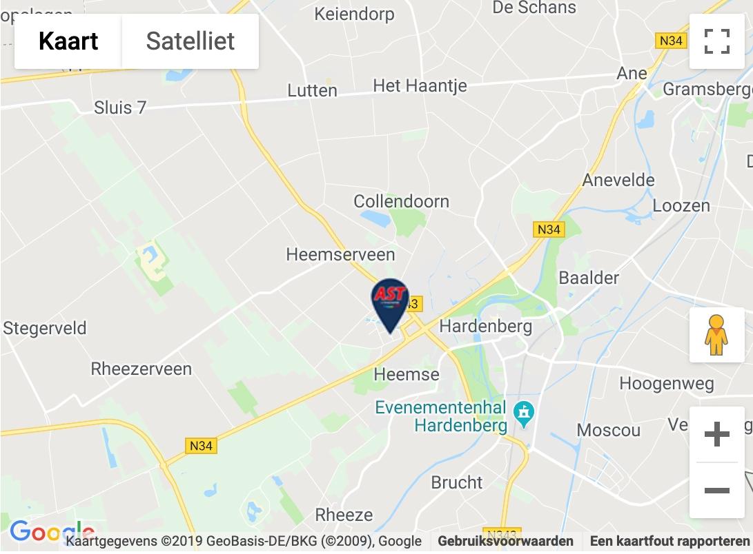 Maps afbeelding AST Hardenberg